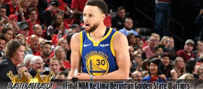 Final NBA Ke Lima Beruntun Golden State Warriors